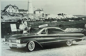 1960 Buick Invicta 2 Door Hardtop 2 Lighthouse 12 By 18 Black