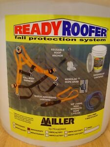 Miller By Honeywell Brfk50 50ft 50 feet Readyroofer Fall Protection System New