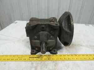 Grant Style St f 10 1 Ratio Worm Gear Box Speed Reducer 1 1 8 Shafts