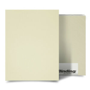 New Ivory 35mil Sand Poly 8 5 X 11 Binding Covers 25pk Free Shipping
