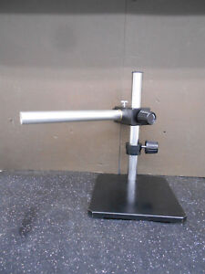 Scienscope Laboratory Heavy Duty Microscope Base Stand Side Boom