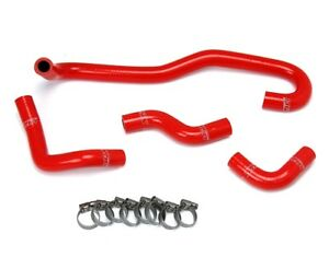 Hps Red Silicone Heater Hose Kit Coolant Oem Replacement 57 1655 Red