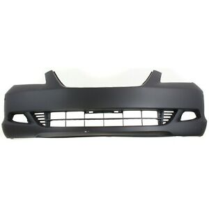 Front Bumper Cover For 2005 2007 Honda Odyssey Touring W fog Light Holes Primed