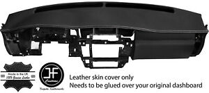 White Stitching Dash Dashboard Real Leather Cover Fits Nissan Patrol Y61