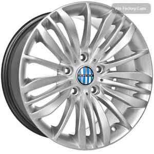 17 Inch Silver Bmw Replica Rims Fits 5 6 7 Series 710