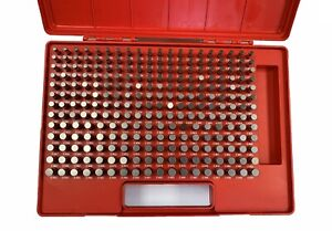 250 Piece m2 Pin Gage Set 251 500 4101 0112