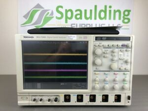 Tektronix Dsa72004 20 Ghz 50 Gs s 4 Ch Oscilloscope Loaded And Mfg Calibrated