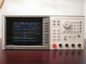 Hp Agilent 8757d 110ghz Scalar Network Analyzer W Options 001 002