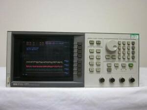 Hp Agilent 8757c 0 01 Ghz To 100 Ghz Scalar Network Analyzer W Option 001