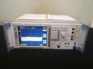 Rohde Schwarz Fsu8 20hz 8ghz Spectrum Analyzer W Opts K5 b16 Calibrated