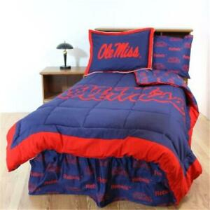 College Covers Misbbfl Mississippi Bed In A Bag Full With Team Colored Sheets