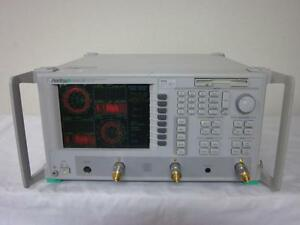 Anritsu Ms4623b Vector Network Analyzer Measurement System 10mhz To 6ghz Loaded