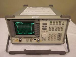 Agilent Hp 8595e 6 5 Ghz Spectrum Analyzer W Tracking Generator Loaded