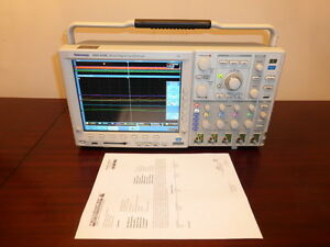 Tektronix Mso4104 1 Ghz 4 Channel 5 Gs s Mixed Signal Oscilloscope Calibrated