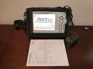 Anritsu Ms2026a Vna Master 2mhz To 6ghz Vector Network Analyzer W Opts 5 10 31