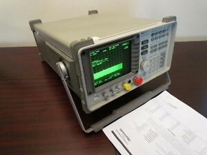 Hp Agilent 8563a 9 Khz To 22 Ghz Portable Spectrum Analyzer Calibrated