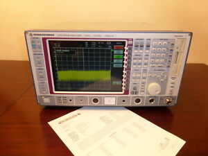 Rohde Schwarz Fsea30 20 Hz To 3 5 Ghz Spectrum Analyzer Calibrated