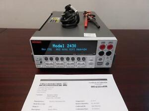 Keithley 2430 1kw Pulse Mode Sourcemeter W Measurements Up To 100v