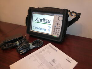 Anritsu S331e Sitemaster Cable antenna Spectrum Analyzer Calibrated