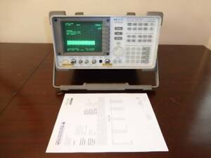 Agilent Hp 8560e 30hz 2 9ghz Spectrum Analyzer With Tracking Generator Cal d