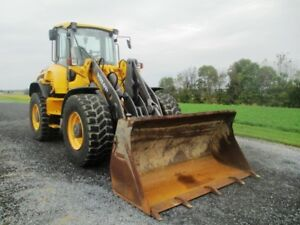 2012 Volvo L50g Articulated Wheel Loader Cab Air Heat 3rd Valve 1698 Hours