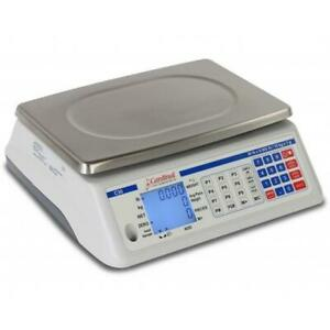 Cardinal Scales C65 11 38 X 8 25 In C Series Counting Electronic Scale 65 Lbs