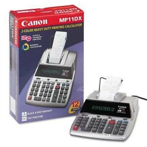 Canon Mp11dx Printing Calculator 12 Digit Clearance Msrp 114 99