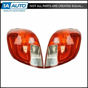 Tail Light Lamp Assembly Lr Rr Set Of 2 Pair For 13 15 Chevy Captive Sport New