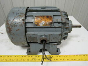 Allis Chalmers 3hp Electric Motor 3ph 440v 1150 Rpm 254 Frame
