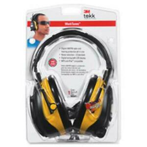 3m Mmm9054100000v Earmuf Safety Headset With Radio Noise Reductn Lcd Bk yw