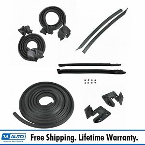 9pc Weatherstrip Seal Kit Set For 69 72 Gto Lemans Tempest Convertible