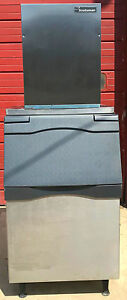 Scotsman Fme804as 1b Air Cooled Flaker 760lbs Iceday Ice Maker With Bin Freeship