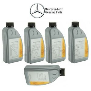 For 5 Liters Gold Dual Clutch Transmission Fluid Genuine For Mercedes X156 X117