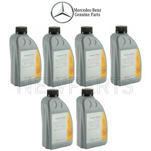 For 6 Liters Gold Dual Clutch Transmission Fluid Genuine For Mercedes X156 X117