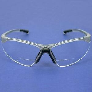 4 Radians C2 Clear Bifocal Reading Safety Glasses 2 0