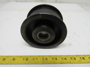 Dematic 0479500003 4 Hub 2 Wide Belt Idler Pulley 1 Bearing Bore