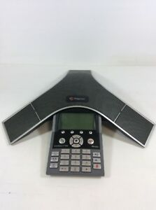 Polycom Soundstation Ip 7000 Poe 30day Warranty Voip Sip Conferencing Phone jh