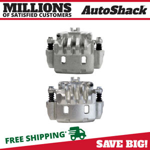 Front Brake Caliper Pair For 2002 2013 2014 Subaru Outback 2003 2018 Forester