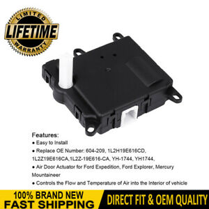 New Heater Blend Door Actuator 604 209 For Ford Expedition Explorer Mountaineer