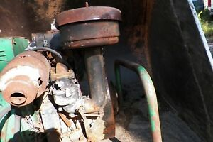 Vintage Briggs Stratton Engine Carburetor Oil Bath Air Cleaner Breather