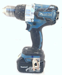Makita Xph07 18v 1 2 Lxt Cordless Brushless Hammer Drill With Battery 27e