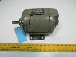 Diehl Type Zp 1 2hp 1725rpm 20 220v 3ph 60hz 145 Frame Electric Ac Motor