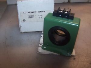 New Katy Instruments 5 Amp Ac Current Sensor 5 40 Vdc Model 420l 5