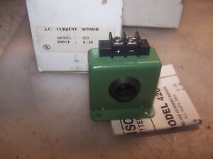 New Katy Instruments 30 Amp Ac Current Sensor Model 420 30 5 40 Vdc