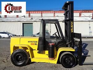 Hyster H155xl2 15 500lbs Forklift Propane Enclosed Cab