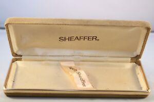 Vintage c1980 Sheaffer Targa Display Case Space For 3 Pens