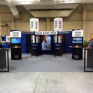 Trade Show Booth 20 X 20 Footprint