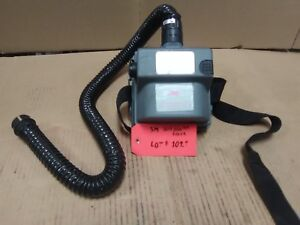 3m Air mate Hepa Powered Air Filter Purifying Respirator Unit With Accessories