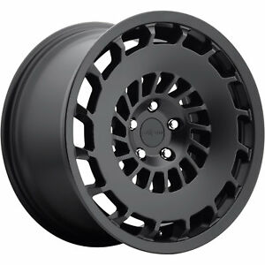 19x8 5 Black Rotiform Ccv R137 Wheels 5x100 35 Fits Pontiac Vibe
