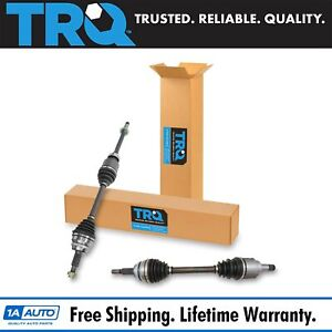Trq New Complete Cv Axle Shaft Assembly Pair 2pc Set For Camry Es350 Avalon